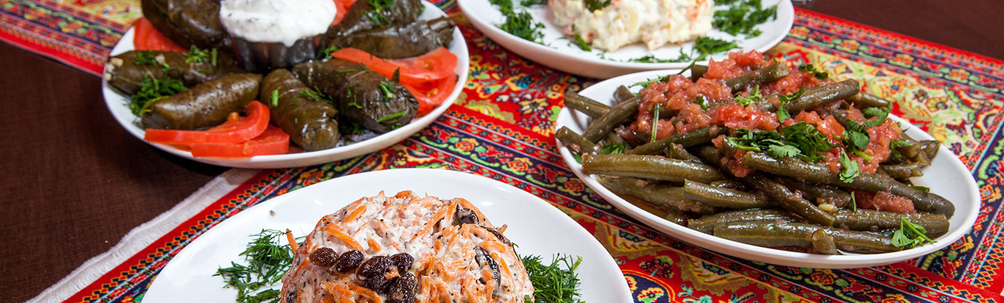 Middle Eastern appetizer dishes