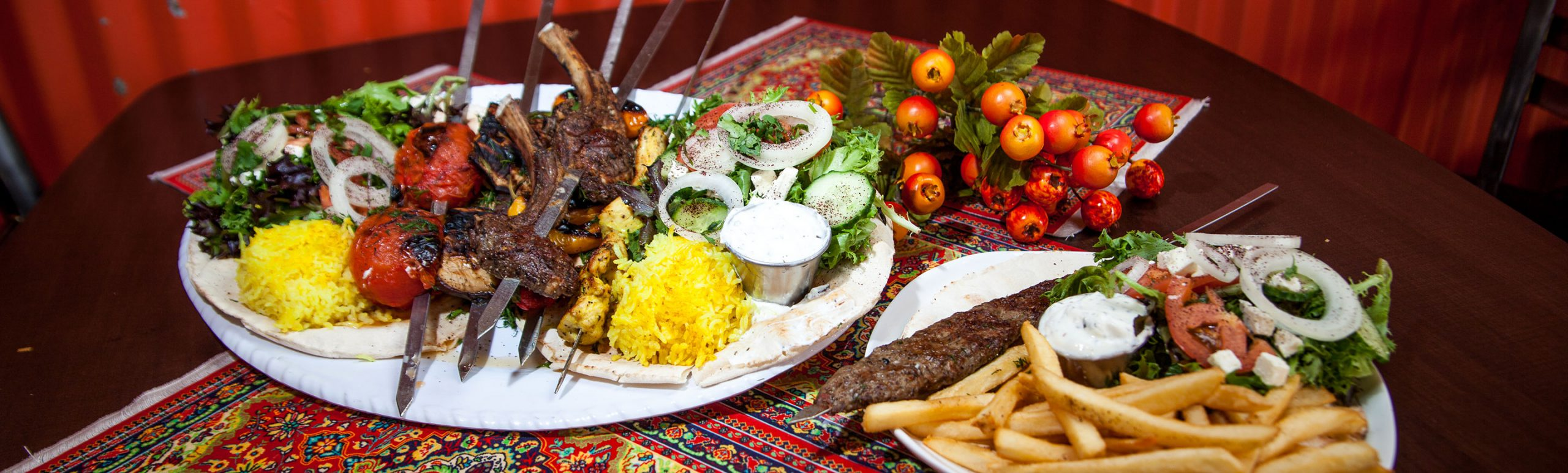 Middle Eastern Entrees